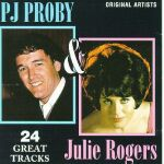 P.J.PROBY & JULIE ROGERS   -1994- on FAT BOY RECORDS  FAT CD 185
